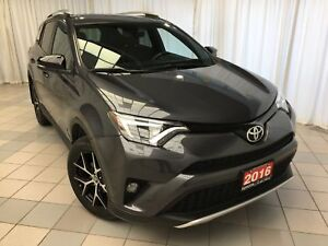 "2016 Toyota RAV4 SE Leather Navigation 18"" Alloys"