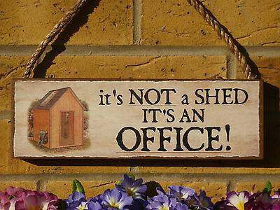PERSONALISED SHED SIGN OFFICE SIGN OUTDOOR OFFICE SIGN OFFICE SUPPLIES LAPTOP - Personalized Office Supplies
