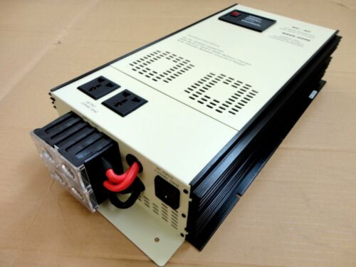 2000/4000Watt Power Inverter w/Charger 12VDC 220/240VAC 50Hz EXTRA 200 Watt More