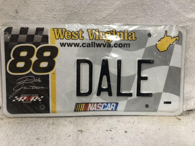 West Virginia Dale Earnhardt License Plate