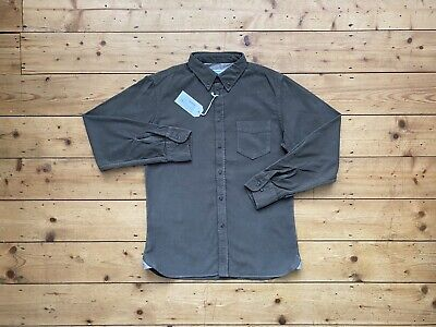 BNWT Universal Works EVERYDAY SHIRT Olive Corduroy Cord Bakers Jacket Lumber £90
