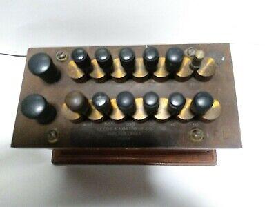 Nice Vintage Leeds Northrup 174142 Universal Potentiometer
