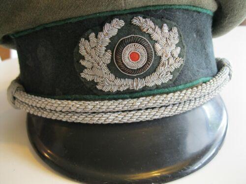 Original Gebirgsjaeger Officer Schirmmutze Visor Hat