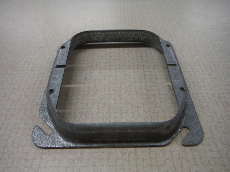 Junction Box Cover Raised Plaster Ring Galvanized