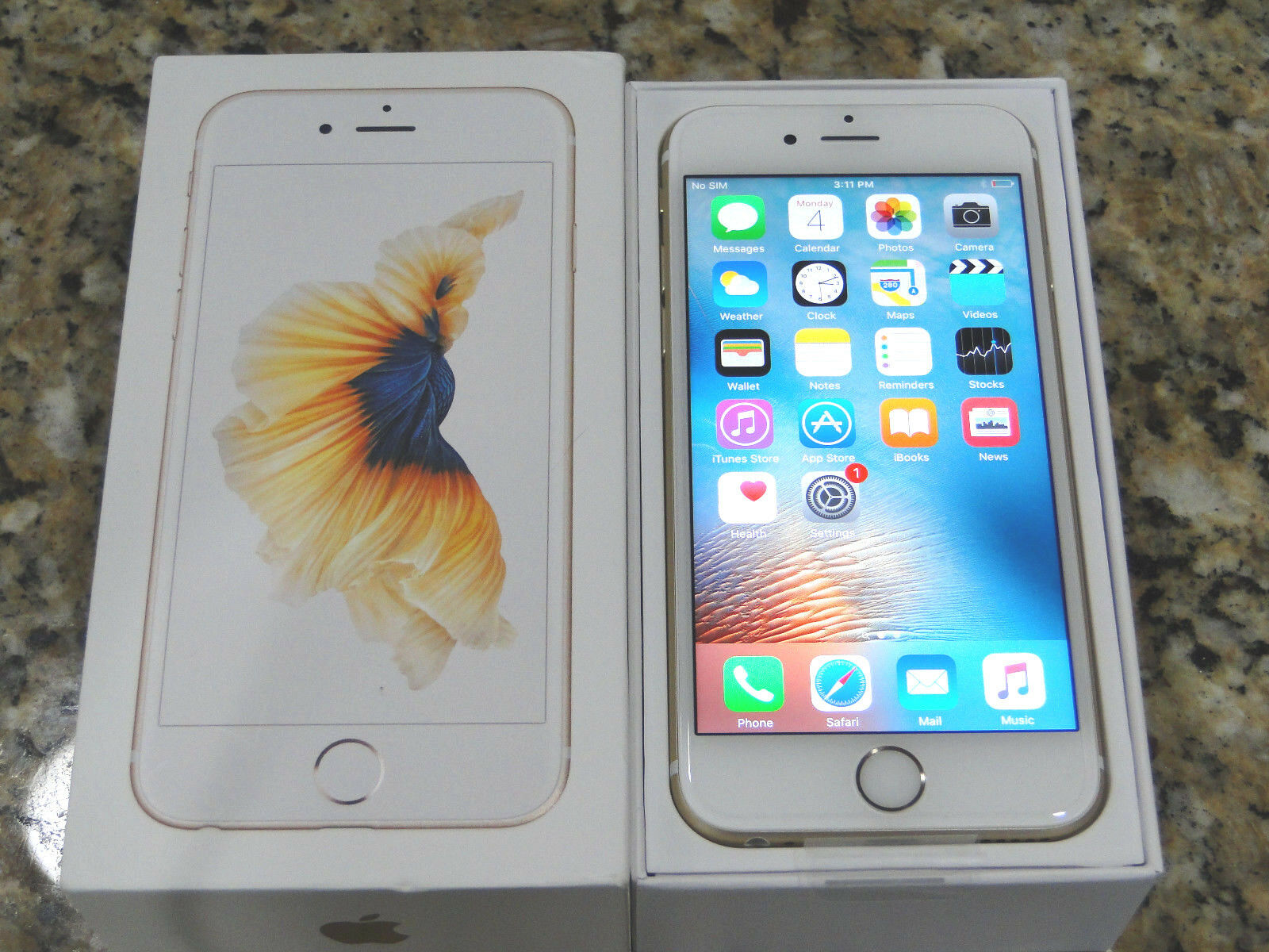 New Apple iPhone 6s Plus 16GB Gold AT&T T-mobile Unlocked WARRANTY APPLCARE  OPT