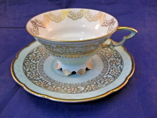 ANTIQUE MITTERTEICH TEA CUP AND SAUCER  - MADE IN BAVARIA GERMANY