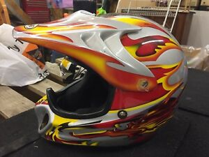 Zeus Dirt bike ATV helmet - size XXS