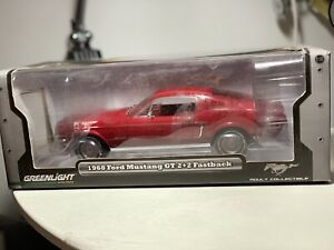 Mustang 1968 Gt 2+2 fastback diecast