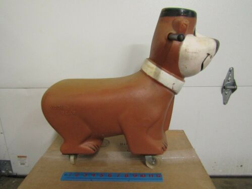 YOGI BEAR ride-on toy DATED 1960 19 x 21 inches from original owner