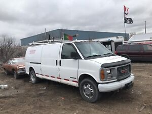 GMC Savana Cargo Van Part Out !!!