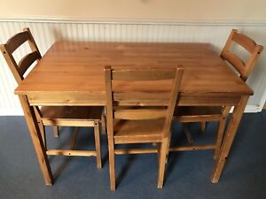 Table & 3 chairs