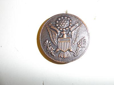 2038 WW1 US Army EM Enlisted Man Hat Badge IR30A4