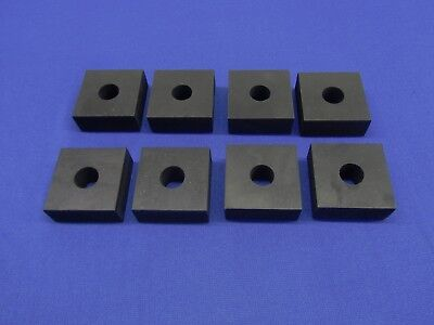 8 Lot Oem Motor Mount Pads Fits Lincoln Arc Welder Sa 200 250 F-162 F-163