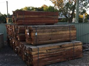 Sleepers Hardwood $45.00 each Moss Vale Bowral Area Preview
