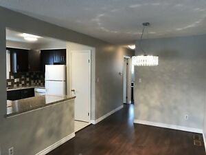 Available immediately 3 + 2 bedroom 2 bathroom Secord Woods Semi