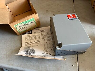 Ge 3s7505pg520a6 Photoelectric Control Relay Nos
