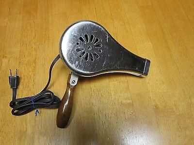 Vintage Dominion Electric Corp Heat Gun model 1801 wooden handle antique decor