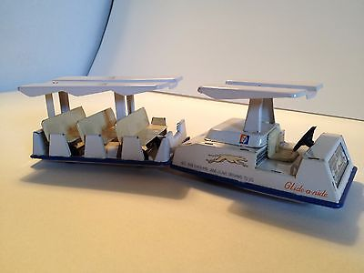 1964-65 NY World's Fair Greyhound Glide-A-Ride Friction Toy with Original Box