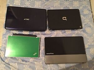 4 working laptops as a lot Marayong Blacktown Area Preview