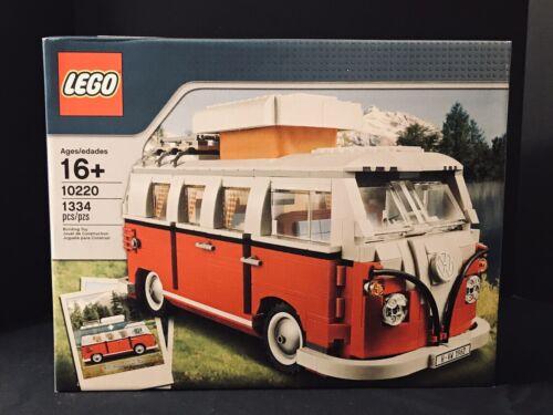 LEGO Sculptures Volkswagen T1 Camper Van  FACTORY SEALED! Fr