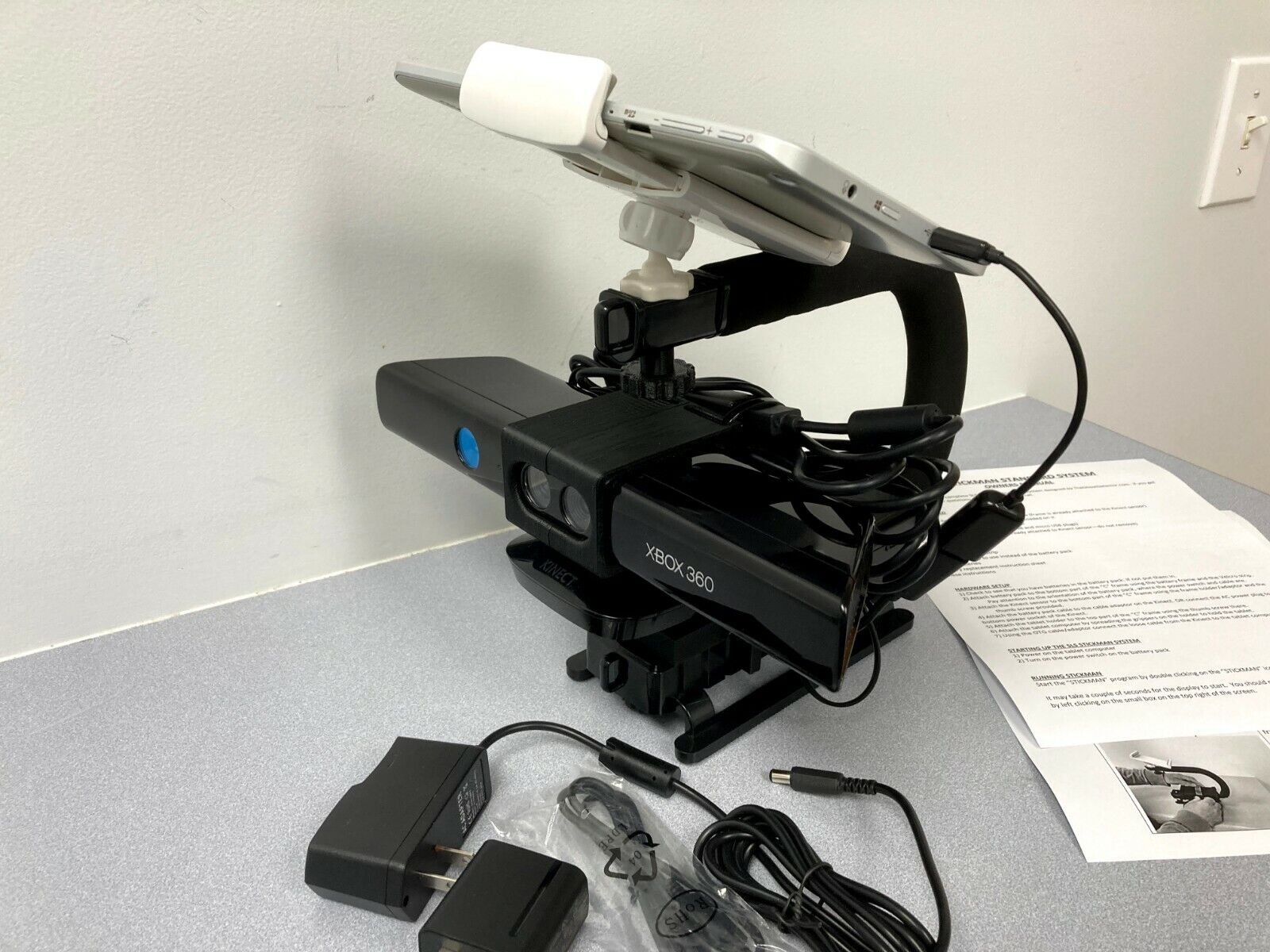 SLS Stickman System Using An XBOX 360 Kinect Sensor For Ghost Hunting Complete - $249.00