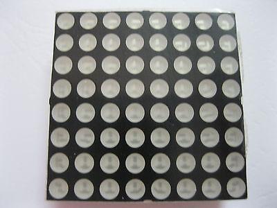 10 Pcs Led Display Dot Matrix Common Cathode Red 5mm 8x8 60x60mm