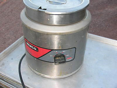 Nemco 6100a Soup Kettle 7 Qt Rnd Warmer Commercial Restauraunt