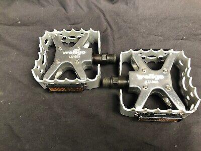 """Wellgo LU-964 MTB Alloy Pedals 9//16/"""" Black"""