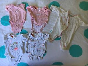Premmie Baby Girls Clothes Size 00000 Croydon Maroondah Area Preview