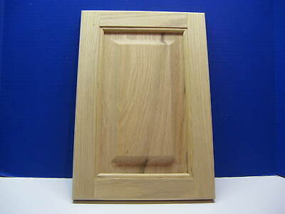 Unfinished Oak Raised Panel Cabinet Door ** Custom Sizes*