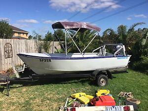 14 ft boat Yamaha Calder Park Brimbank Area Preview