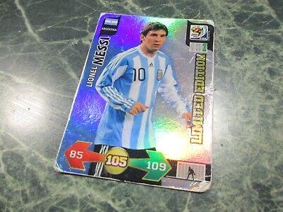 Panini Adrenalyn XL World Cup South Africa 2010 - Lionel Messi Limited Edition, usado segunda mano  Embacar hacia Spain