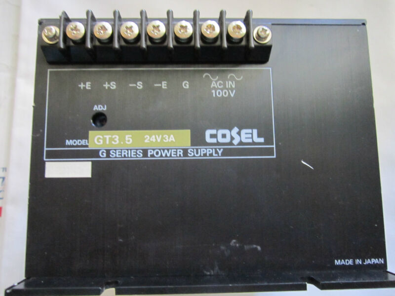 COSEL POWER SUPPLY  GT3.5 24V 3A G SERIES