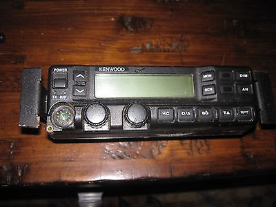 Kenwood Remote Control Head Tk-690 790 890 Series Rack Mount - No Mic No Wires