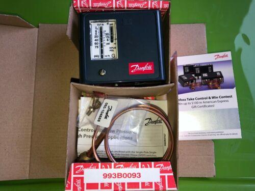 "Danfoss 060-5240 Low Pressure Control KPU2 36"" Cap. Tube w/1/4"" Flare Nut"