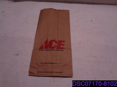 Qty = 1,000 Bags: Ace Hardware #8 Paper Sacks 5