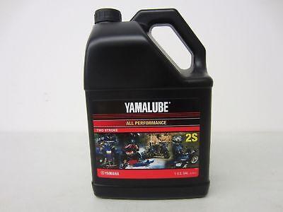 1 Gallon Yamalube 2S 2 Stroke All Purpose Motorcycle ATV Snowmobile Oil 2S