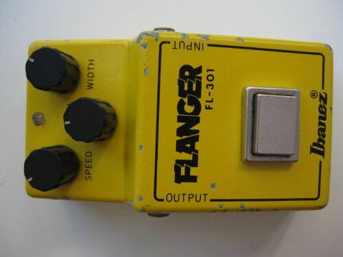 Vintage 1981 Ibanez FL-301 Flanger Guitar Effect Pedal