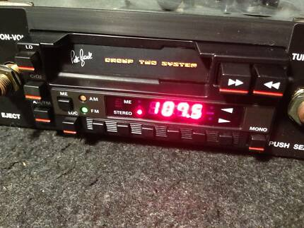 BROCK STEREO VH GROUP 3 EUROVOX RADIO DISPLAY REPAIR SERVICE HDT SS