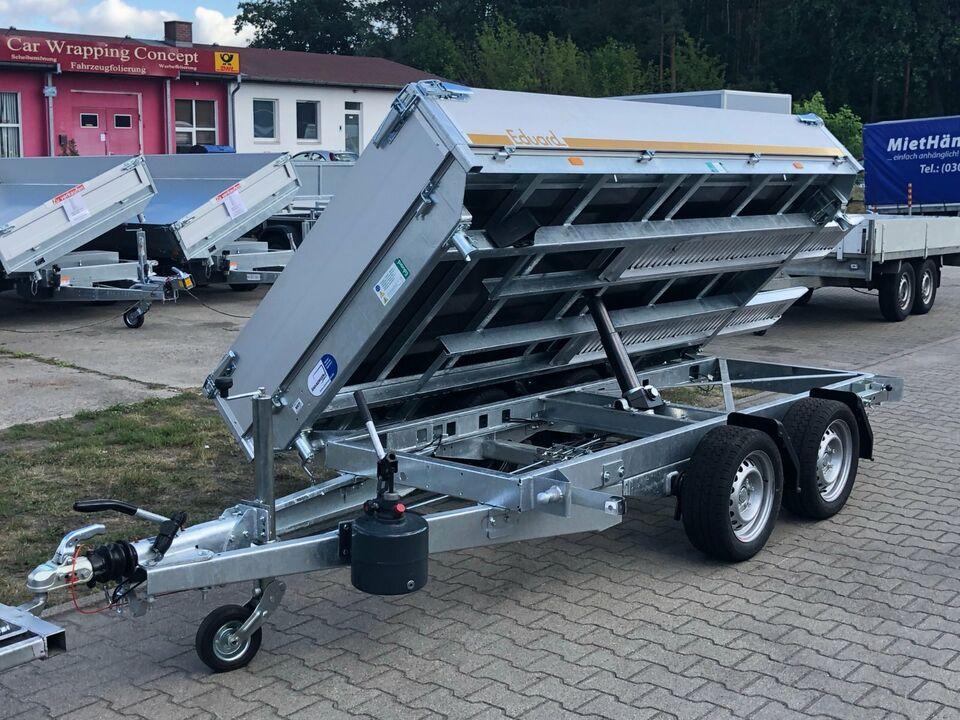 ⭐ Anhänger Eduard Kipper 3-Seiten 2700kg 311x160x30cm Rampen 63 in Schöneiche bei Berlin