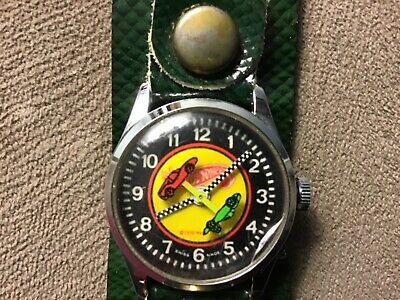 Vintage 1970 Hot Wheels Watch