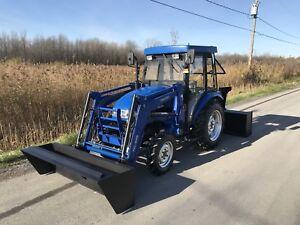 Tracteur 2012 4x4 diesel