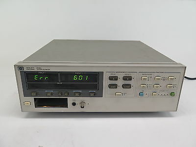 Agilent Hp 8508a - Vector Voltmeter Mainframe No Plug In