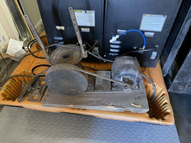 Antique Paint / Oil Mixer Shaker Countertop Unit
