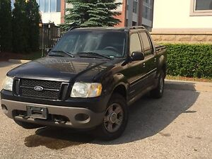 2002 Ford Explorer Sport Trac - With Tonneau and Bed Extender