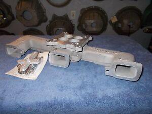 Offy Offenhauser Chevy / GM 4 brl intake manifold 6 cyl 194-230-250-292