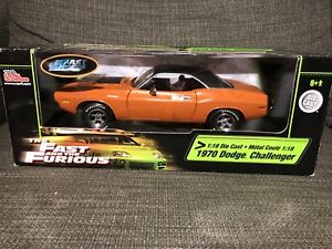 1970 doge challenger fast and furious die cast car