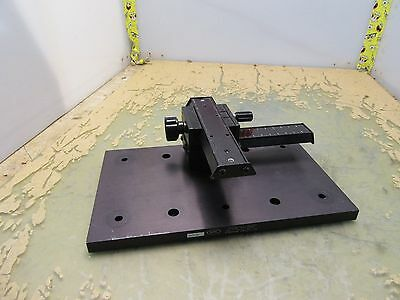 Newport Nrc 290-bp Base Plate W Xy Translation Stage 3d-14.5