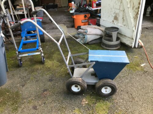 Field Dry Line Marker - 4-Wheel, Heavy-Duty 100-Lb. used great condition pk up