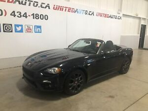 2017 Fiat 124 Spider ABARTH CONVERTIBLE A/C CAMERA RECUL SIÈGES